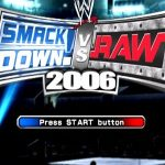 WWE Smackdown Vs Raw 2006 PSP ISO