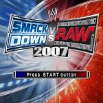 WWE Smackdown Vs Raw 2007 PSP ISO