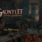 Gauntlet Seven Sorrows PS2 ISO
