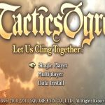 Tactics Ogre Let us Cling Together PSP ISO