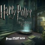 Harry Potter and The Half Blood Prince PS2 ISO
