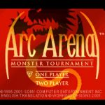 Arc Arena Monster Tournament PS1 ISO