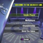 Weakest Link PS1 ISO