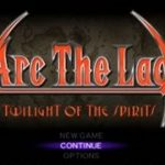 Arc The Lad Twilight of The Spirits PS2 ISO