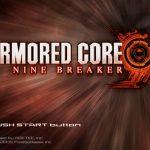 Armored Core Nine Breaker PS2 ISO