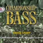 Championship Bass PS1 ISO