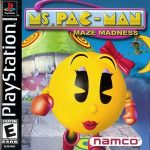 Ms. Pac Man Maze Madness PS1 ISO